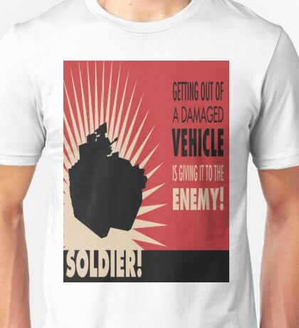 Battlefield 3 - Funny Clothing and stickers Unisex T-Shirt