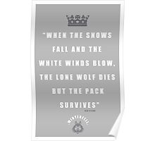 Stark Quote Poster
