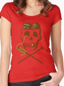 Knit For Brains Women's Fitted Scoop T-Shirt