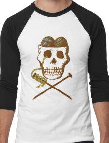 Knit For Brains Men's Baseball ¾ T-Shirt