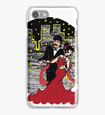 Dancing Into the Night iPhone Case/Skin