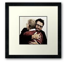 Let me put my arms around you once more.. Framed Print
