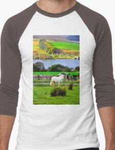 Welsh Pony Men's Baseball ¾ T-Shirt