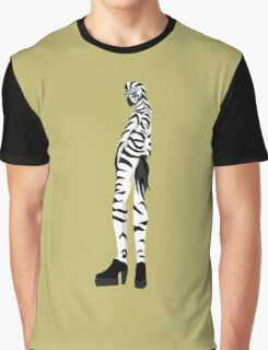 Zebra girl Graphic T-Shirt