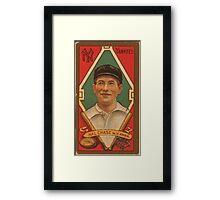 Benjamin K Edwards Collection Harold W Chase New York Yankees baseball card portrait 001 Framed Print