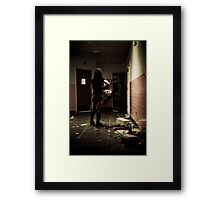 Zoe Alone Framed Print