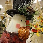 Snowman's shiny nose by amak
