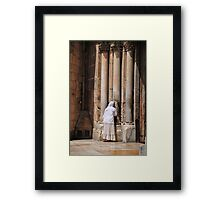 Israel, Jerusalem, Old City, Exterior of the church of the Holy Sepulchre Framed Print