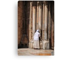 Israel, Jerusalem, Old City, Exterior of the church of the Holy Sepulchre Canvas Print