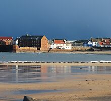 North Berwick West Bay & Harbour by Michelle Bailey
