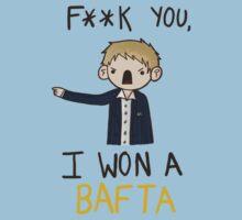 I won a BAFTA (censored)