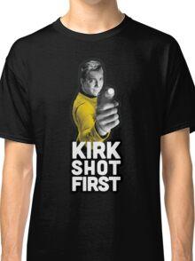 Kirk Shot First Classic T-Shirt