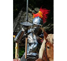Knight in shinning armour Photographic Print