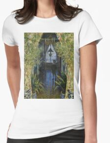 A Corner of the Apartment - Claude Monet - 1875 Womens Fitted T-Shirt