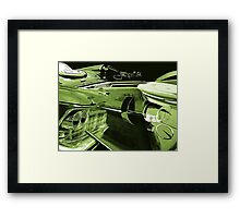 Green Imperial Framed Print