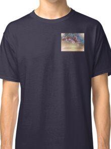 Serenity Prayer Blossoms Blue House Classic T-Shirt