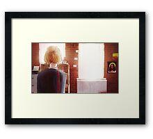 Room - KATE Framed Print