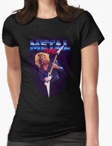 Metal Time Womens Fitted T-Shirt