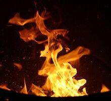 Fire Spat by Sam Denning
