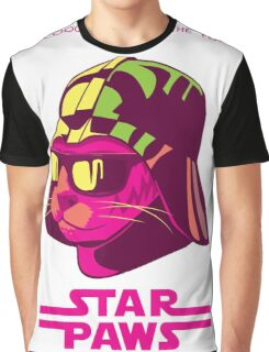 Darth Kitty - Neon Graphic T-Shirt