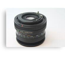 Manual Lens Canvas Print