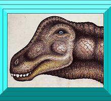 The Seismosaurus by Sean Phelan
