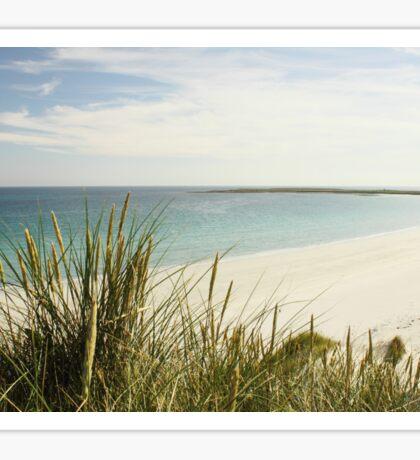 Deserted Beach Sticker