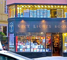 San Francisco, City Lights Book Store by David Denny