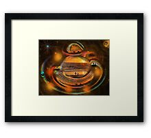 Somewhere In The Universe, We Will Meet Again Framed Print