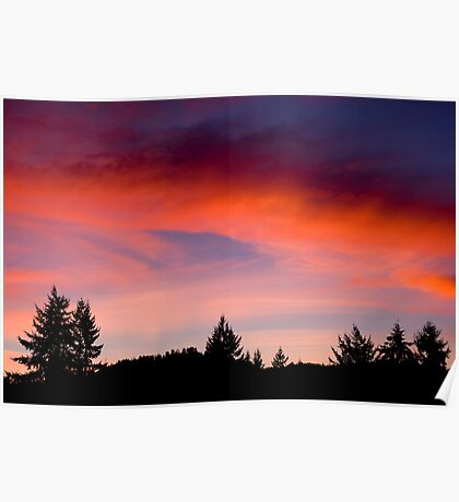 Red Sky At Night ... Sailors Delight Poster