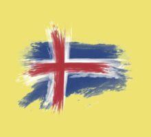 Iceland flag Kids Tee