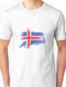 Iceland flag Unisex T-Shirt