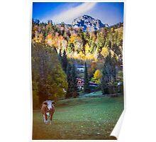 Autumnal Bayrischzell  Poster