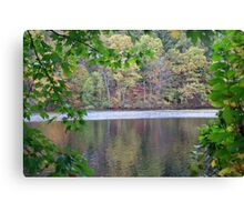 Lake in the Fall 1 Canvas Print