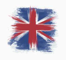 England Flag Great Britain Flag united kingdom Kids Tee