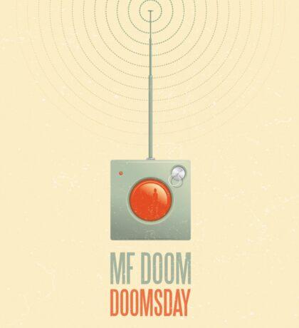 MF Doom - Doomsday Sticker