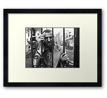 To see far is one thing, going there is another. Framed Print