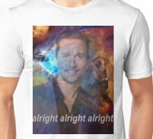 alright alright alright galaxy Unisex T-Shirt