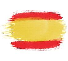 Spain Flag Spanish Flag by T J B