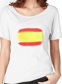Spain Flag Spanish Flag Women's Relaxed Fit T-Shirt