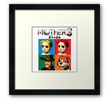 MOTHER 3 / EarthBound 64 Tiles (MOTHER 3 Logo) Framed Print