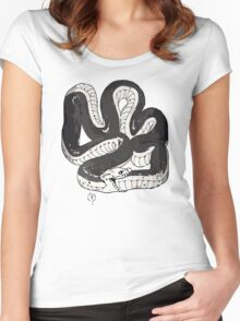 Chloe's Snake Shirt - Episode 5 Women's Fitted Scoop T-Shirt