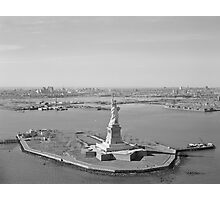 Liberty Island Photograph Photographic Print