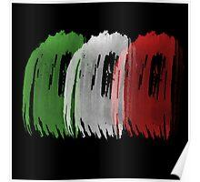 Italy Flag italian rome Poster