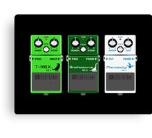 Dinosaur Effects Pedals Canvas Print