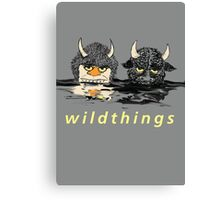 WildThings (The Sequel) Canvas Print