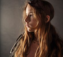 Steampunk Girl by Kim-maree Clark