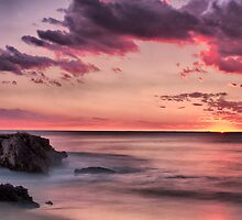 Dusk - Benion  Beach by Austin Dean