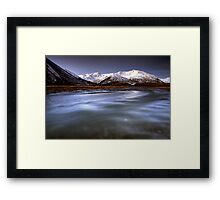 Lost Mountains Framed Print
