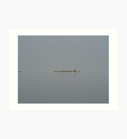 island in the gulf Art Print
